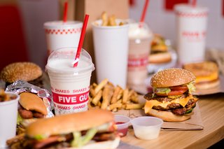 Five Guys in Dublin